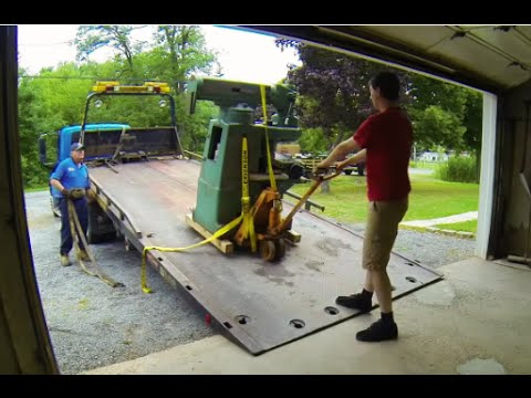 How to move a milling machine and lathe like a pro!