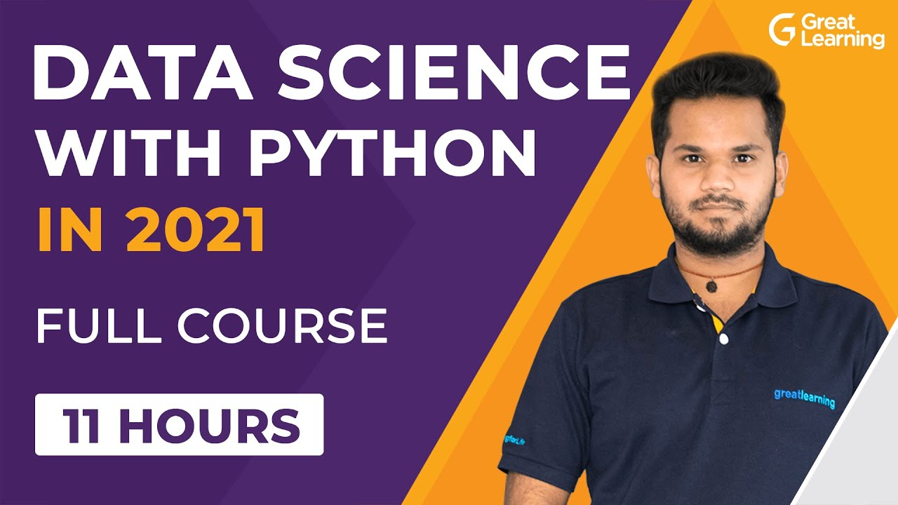 Data Science with Python Full Course 2021 | Python for Data Science