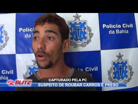 PC PRENDE ACUSADO DE ROUBO DE VEÍCULOS