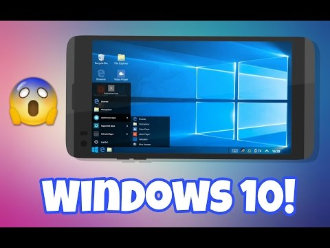 Windows 10 Launcher On Android 2017! (Beta V1)
