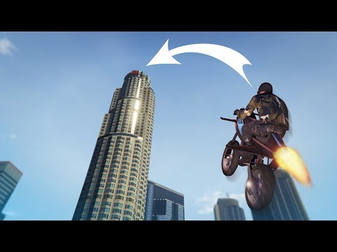 ROCKET BIKE MAZE BANK CHALLENGE! - (GTA 5 Online Funny Moments)