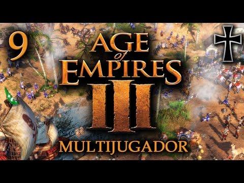 Age of Empires III - 9ª Partida Multijugador - Miguel, Iván, Juan y Fede
