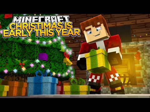 Minecraft - CHRISTMAS COMES EARLY THIS YEAR??