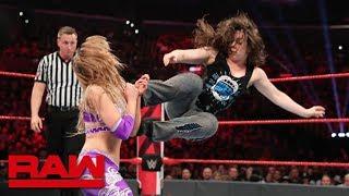 The IIconics vs. Alexa Bliss & Nikki Cross – WWE Women's Tag Team Title Match: Raw, June 17, 2019