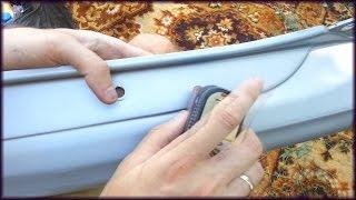 Как убрать коцки, сделать и покрасить бампер с баллончика самому(Подробный видео обзор о том, как можно сэкономить деньги на покраске бампера. Сделать бампер самому и не..., 2016-08-16T05:00:37.000Z)