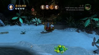 LEGO Pirates of the Caribbean. #22. Тортуга (Свободная игра, 100%)