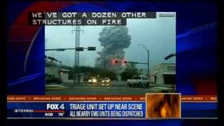 BREAKING - Waco Texas Fertilizer Plant Explosion