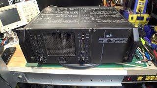 Peavey CS-1200x Amplifier Repair