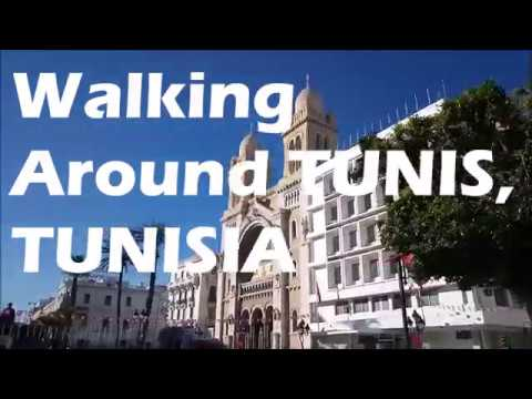Walking Around Tunis (The Capital City of Tunisia) | VLOG #12