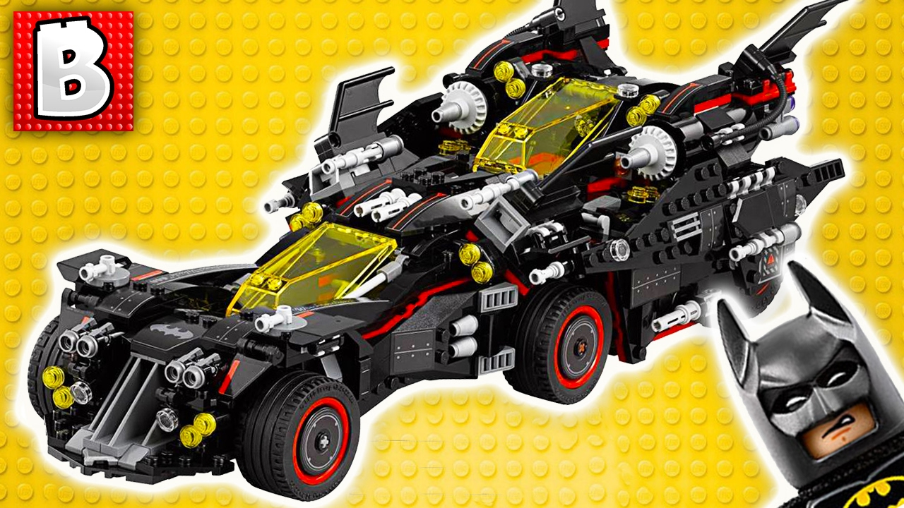 lego the ultimate batmobile biggest lego batman movie vehicle ever weekly lego news. Black Bedroom Furniture Sets. Home Design Ideas