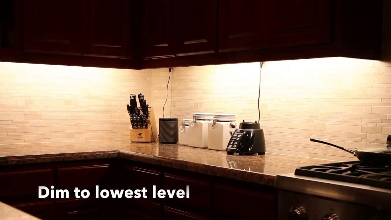 Undercabinet light dimmer test youtube undercabinet light dimmer test aloadofball Choice Image