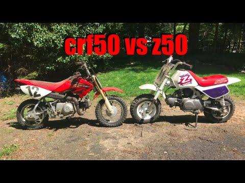 crf50 vs z50 Comparison Video