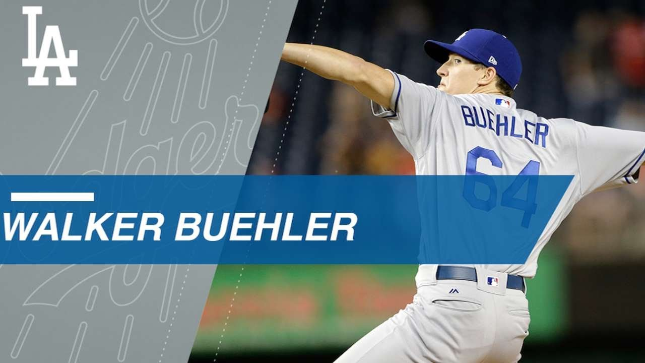 Dodgers' Walker Buehler delivers when called upon