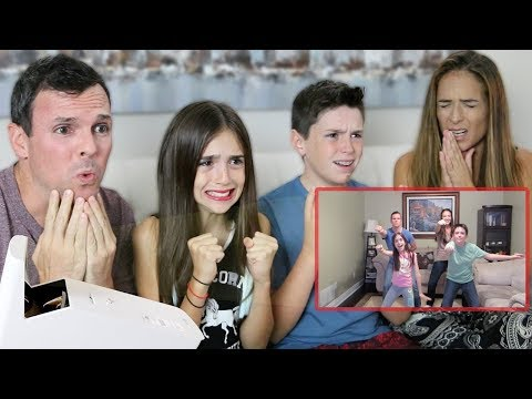 REACTING TO OUR OLD CRINGEY VIDEOS!!