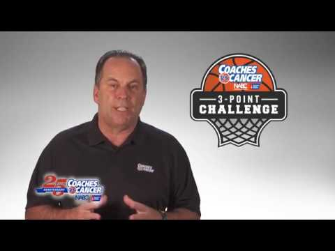Coaches vs. Cancer Mike Brey 3-Point Challenge Video