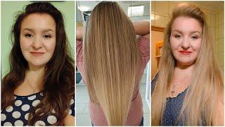 Изменила цвет волос Как и где красила Результат до и после Мое мнение о высветлении волос