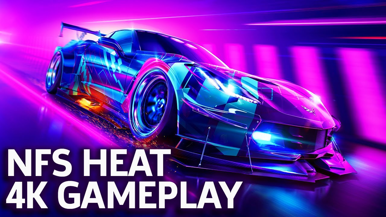 Need For Speed Heat 4k Gameplay Gamescom 2019 Youtube