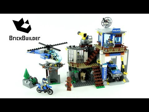 LEGO CITY 60174 Mountain Police Headquarters Speed Build