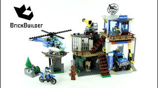 Lego City 60174 Mountain Police Headquarters - Lego Speed Build