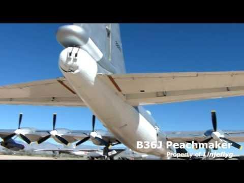 Convair B-36J Peacemaker- Boeing B-47 Stratojet-Convair B-58 Hustler