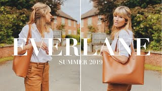 EVERLANE REVIEW HAUL AND TRY ON | SUMMER 2019
