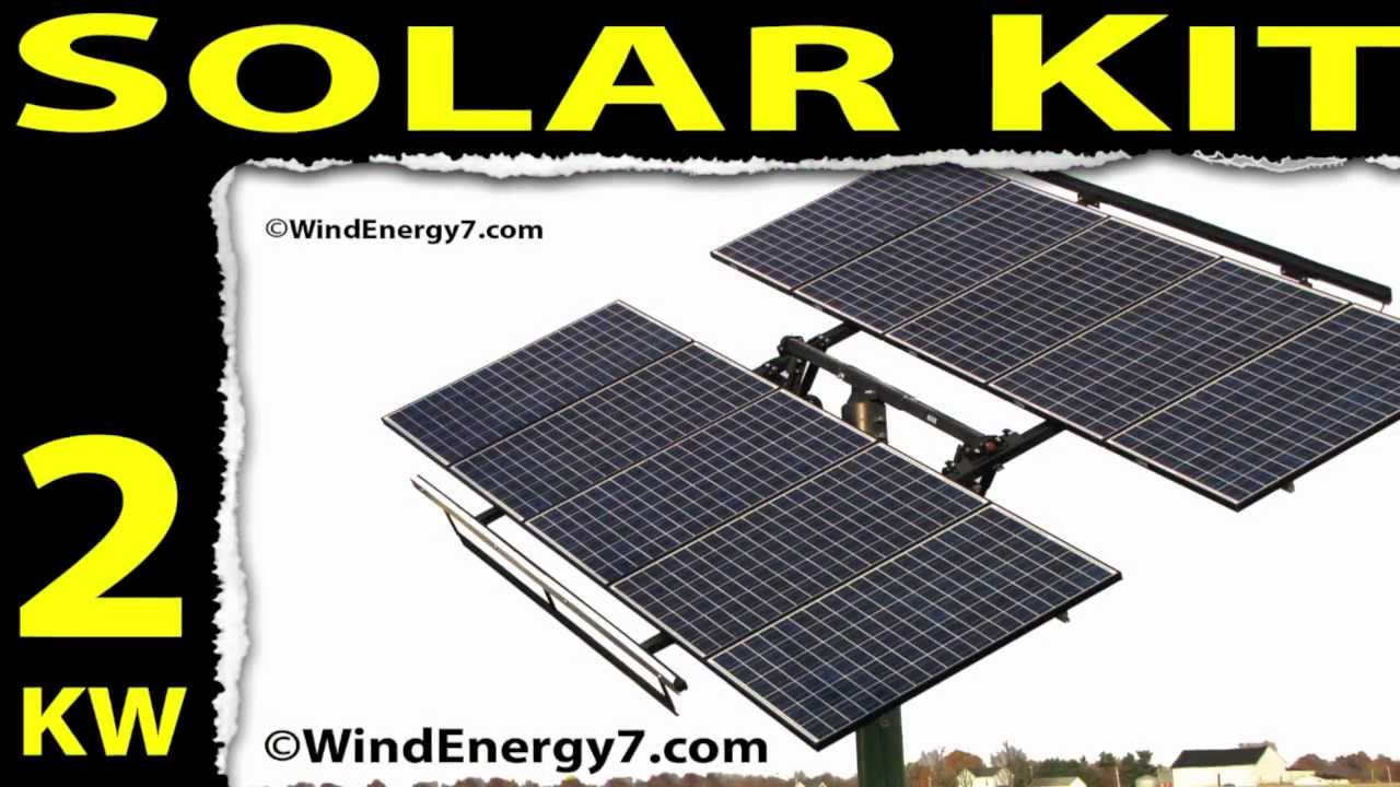 Solar Panel Kits Solar Panels Cost Youtube