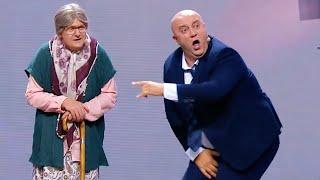 Реакция на удар в пах, бабушка против жирного депутата | Ржака, лучшие приколы и смешные видео 2020