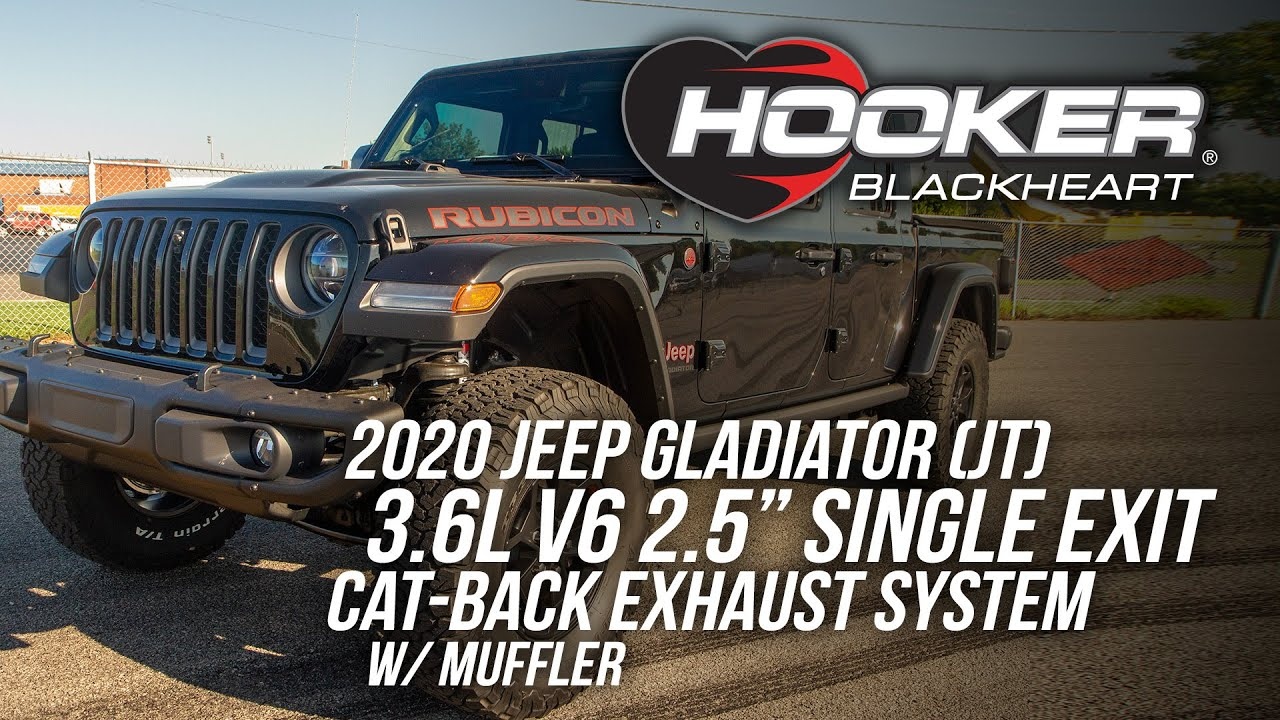 2020 Jeep Gladiator Exhaust System