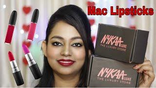 MAC Lipsticks Haul || My First Ever MAC Products || Roby Woo My Dream Lipstick