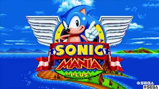 Sonic Mania Plus: Encore Greenhill Zone Act 1*