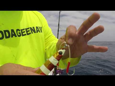 How to tie a jig to the main line