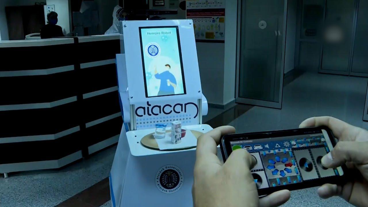 Turquía | Robot controlado a través de un smartphone comenzará a atender pacientes con Covid-19