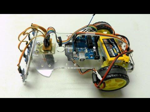 Arduino-based Line Follower Robot Using Pololu QTR