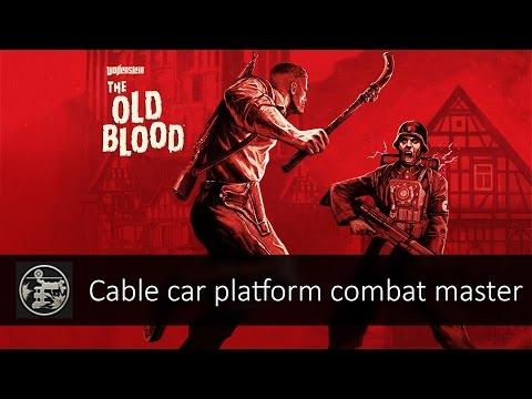 Challenge #4: Cable Car Platform (Gold Medal) - Wolfenstein: The Old Blood