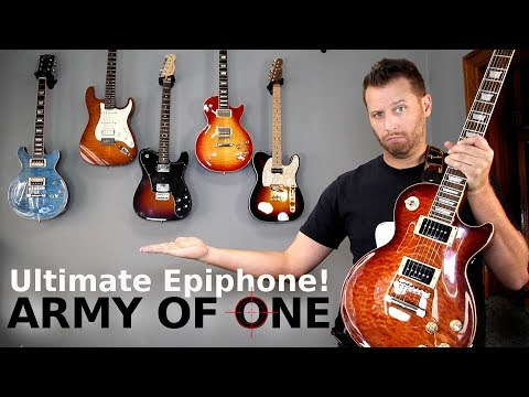 The ULTIMATE Epiphone! – Is This the Best Sounding Guitar Ever??