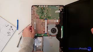 Asus X540MA upgrade HDD to SSD