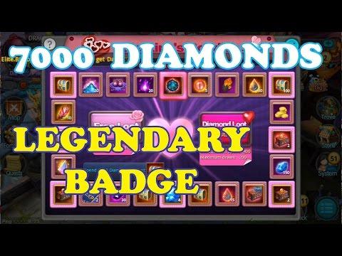 Taichi Panda | Spending 7000 Diamonds on Roulette for a LEGENDARY Badge