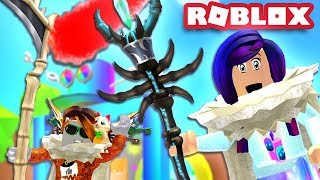 THE ALL SLAYING BLOB STAFF & BEATING THE RAINBOW REALM! | Roblox Blob Simulator