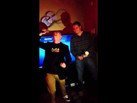 Lee's annual karaoke tradition.