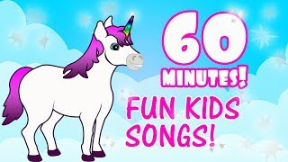 1 Hour of Kids Music - Children's Fun Songs on Youtube -  Kids Educational Songs Preschool