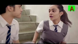 School love story || True love 😘 || girlfriend and boyfriend in school 💕