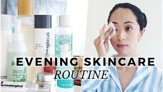 Summer To Fall Evening Skincare Routine 2017, summer skincare routine, fall skincare routine