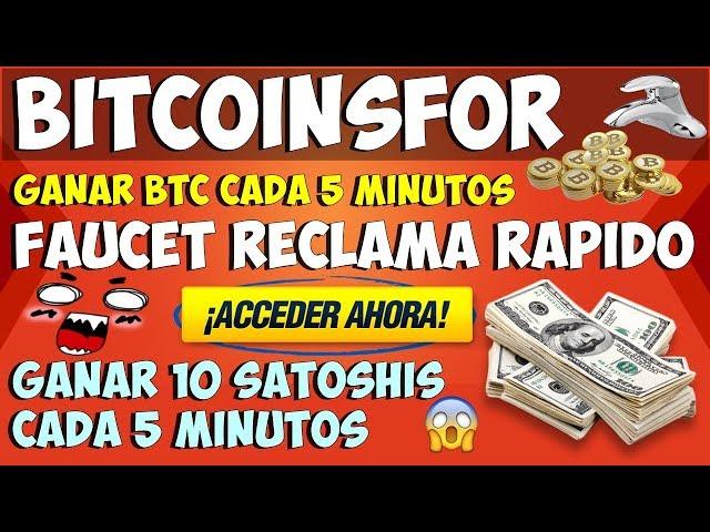 Bitcoinsfor.me excelente faucet que paga puntualmente el día domingo de cada semana. Sddefault