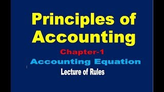 Accounting Equation//Summary of Transaction// Double entry book keeping(Dual Aspect Concept)