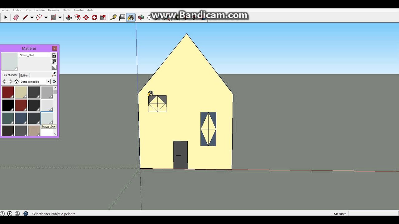 Sketchup maison simple ventana blog for Modeliser sa maison