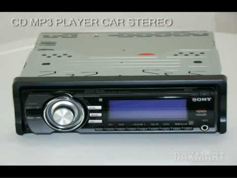 Sony Xplod CdxGt710 Cd and Mp3 Player Car Stereo