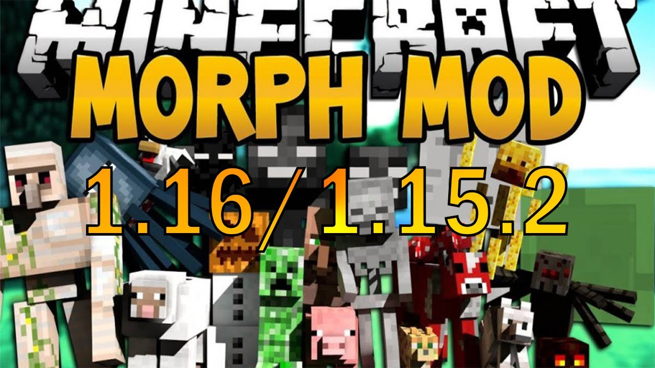 How To Install The Morph Mod 1 16 2 1 16 With Forge Youtube