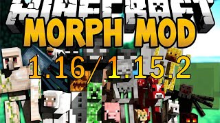 How to INSTALL the Morph Mod 1.16.1/1.16 (with Forge)