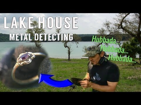 Lake House property Metal Detecting for Silver, Relics, and GOLD