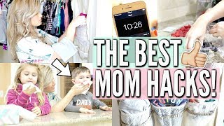 💁🏼 THE ULTIMATE MOM HACKS TO MAKE LIFE EASIER! | CLEANING, ORGANIZATION, SHOPPING + MORE | Love Meg